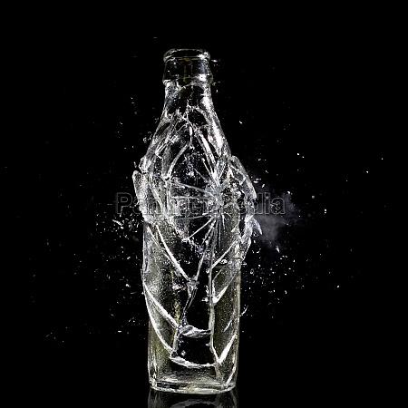 bottle explosion