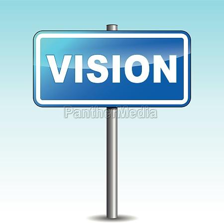 vector vision wegweiser