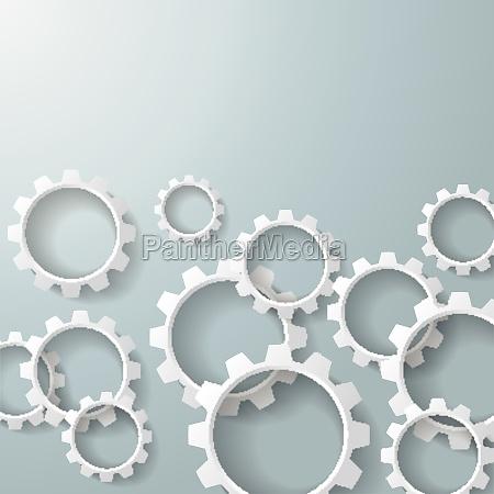 white gears 3