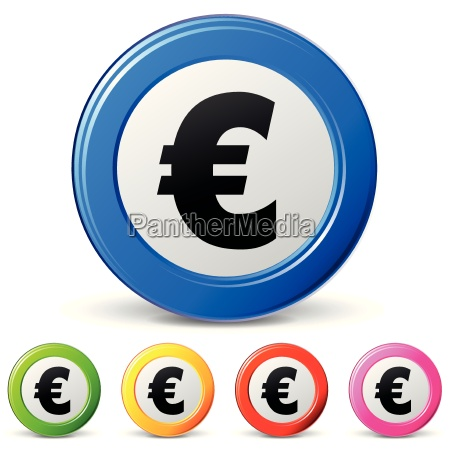 euro sign icons