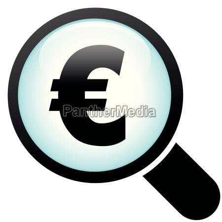 euro glass icon