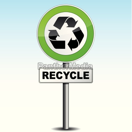 recycle signboard