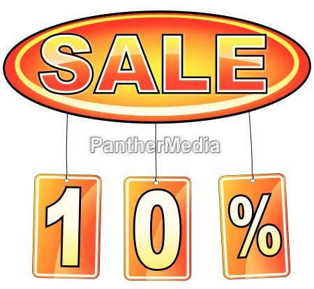 sale icon with percentage