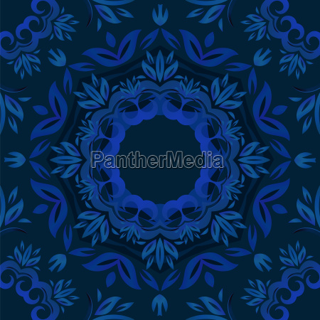 blau grafik illustration dekoration ausschmueckung grafisch