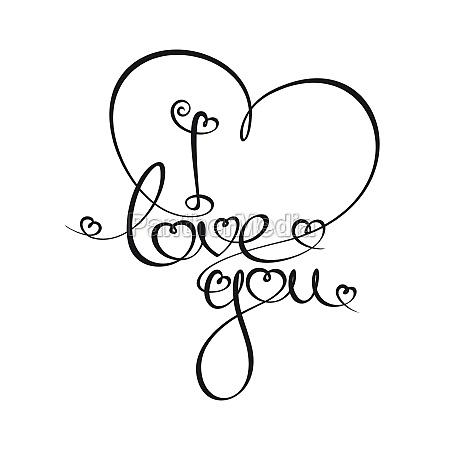 kalli text ich liebe dich