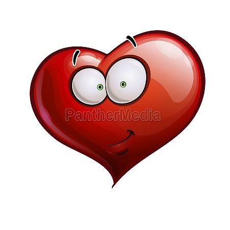 heart faces happy emoticons smirk