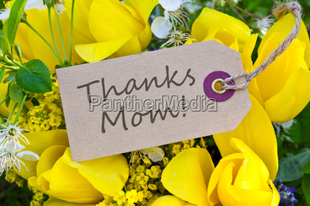 mothers day card thanks thank you
