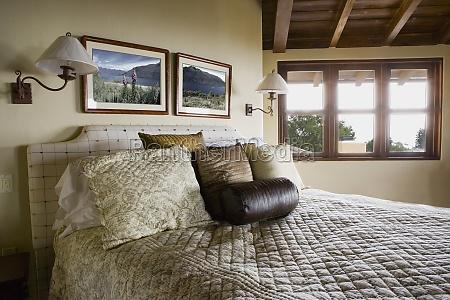 large elegant master bed