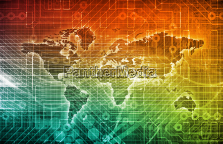 digitales netzwerk
