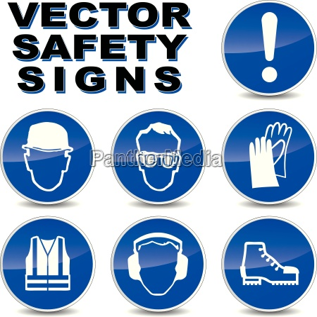 vector sicherheitszeichen