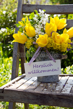 welcome warmest welcome text lettering german