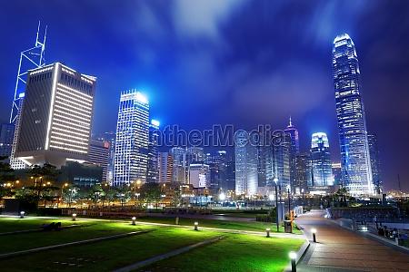 park in der stadt hongkong
