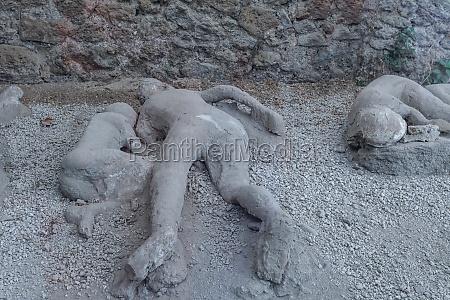 mann tot in pompeji