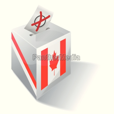 wahlbox kanada