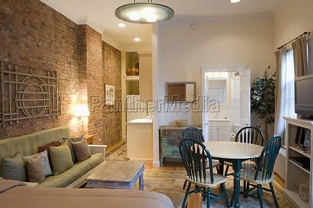 kleines studio apartment