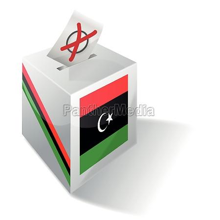 wahlbox libyen