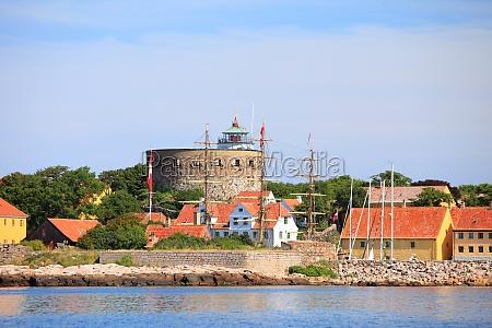 der big tower christiansoe bornholm daenemark