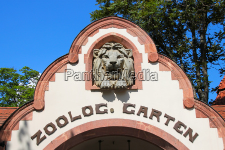 eingang zoo leipzig