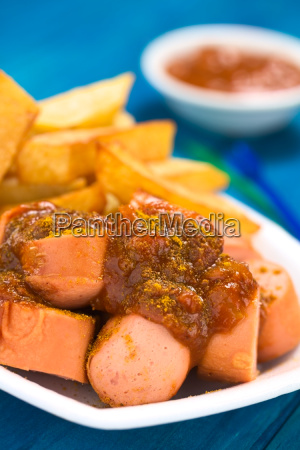 german fast food called currywurst