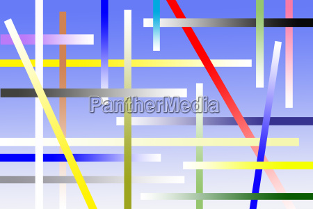 graphic of colorful abstract design for