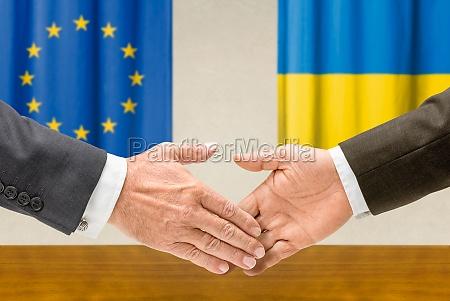 representatives of the eu and ukraine