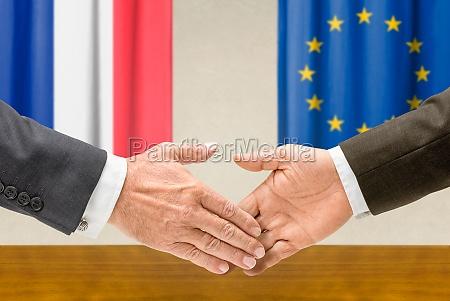 representatives of france and the eu