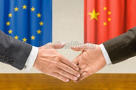 representatives of the eu and china