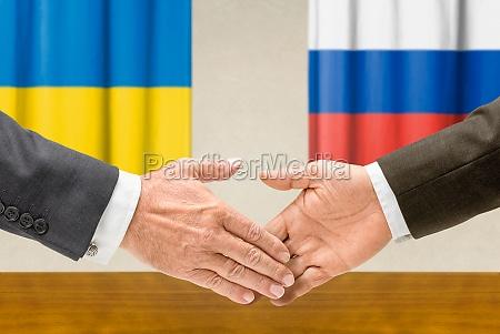 representatives of ukraine and russia reach