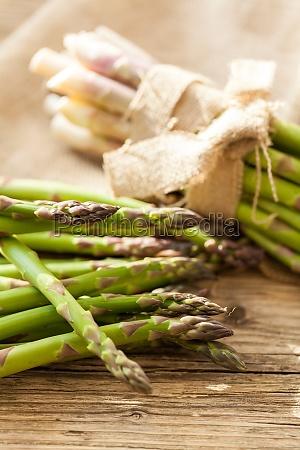 fresh healthy green asparagus as a