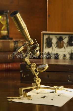 jones stil naturforscher mikroskop circa 1795