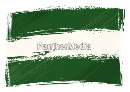 grunge andalusien flagge