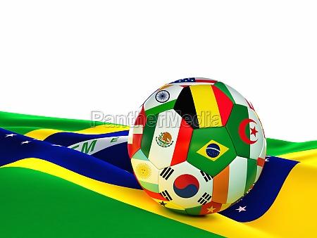 brasilien, fußball - 11710309