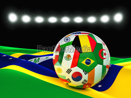 brasilien, fußball - 11710323