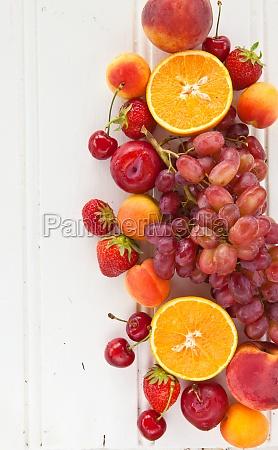 fresh bunte fruechte