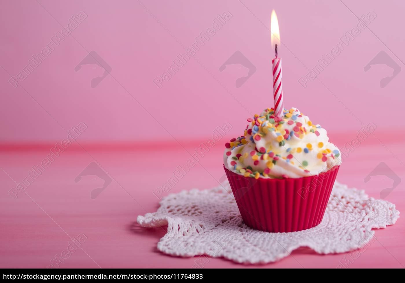 Cupcake Geburtstag Muffin Stockfoto 11764833 Bildagentur