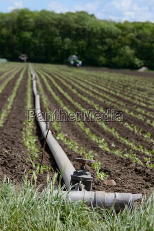 landwirtschaftliche bewaesserungsanlage