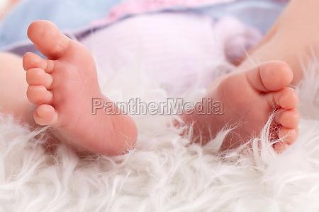 kleine babyfuesschen