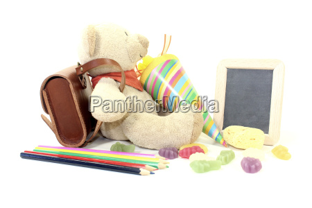 back to school with teddy
