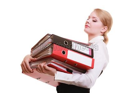 frau muede ermuedet geschaeftsfrau businesswoman karrierefrau
