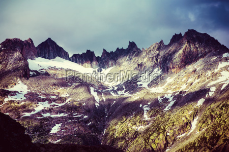 majestic mountainous landscape