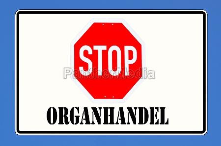 stopt organhandel