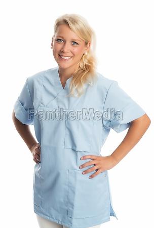 confident nurse