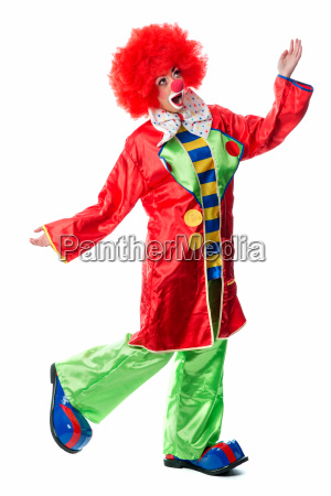 singing clown