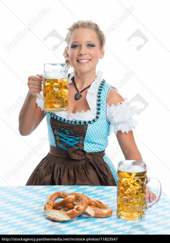 bayrin, mit, bier, und, brezn - 11823547