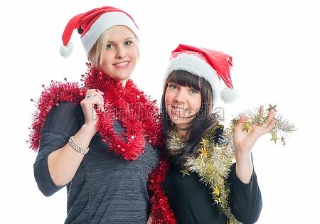 2 christmas girl