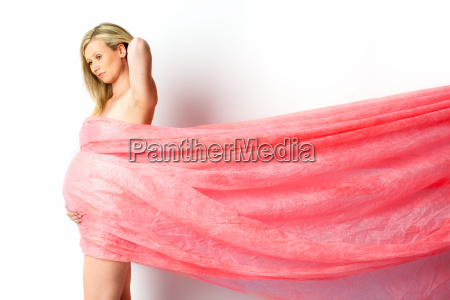 pregnant in tulle