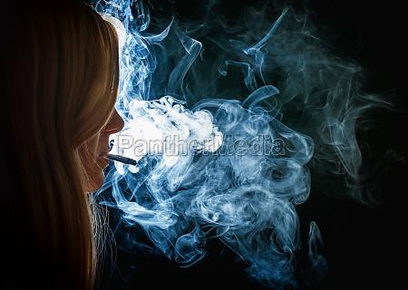 smoking teens