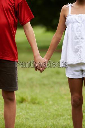 children in love boy and girl