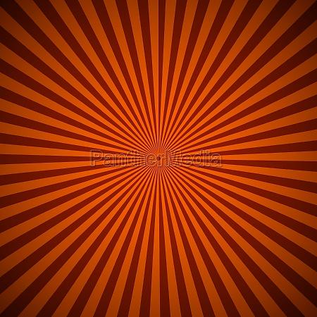 orange radialstrahlen abstrakten hintergrund