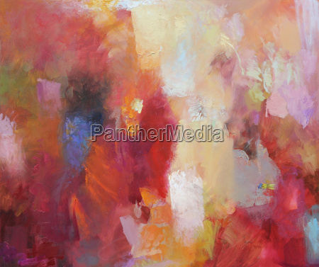 painting abstract texture